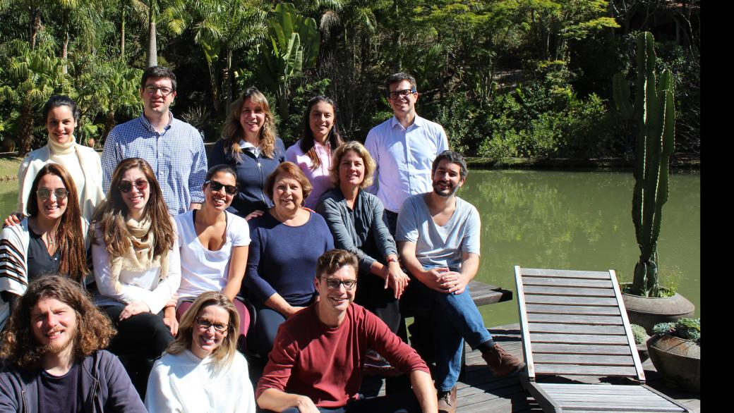 Participants in 2017 bridging leadership program in Brazil