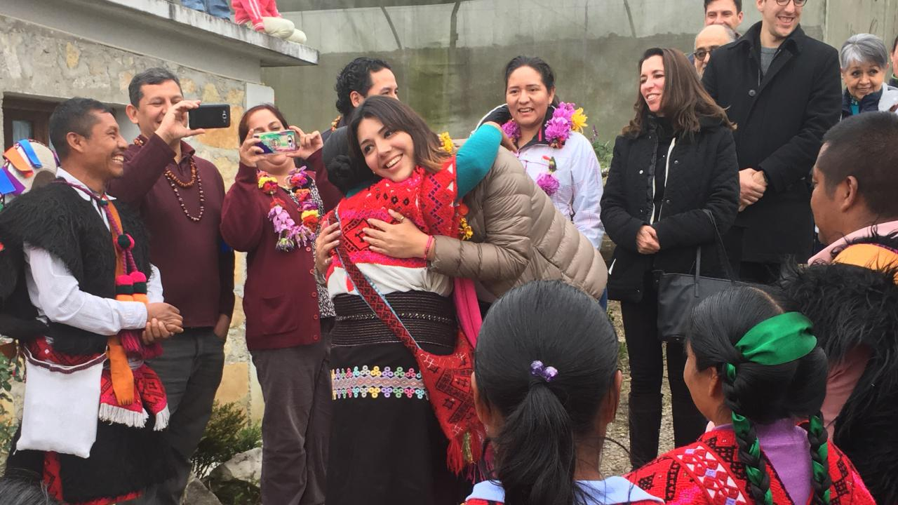 Bridging leadership class with community group in Chiapas, Mexico