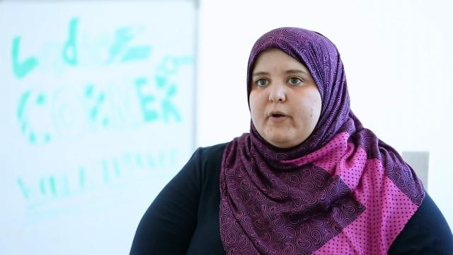 Social entrepreneur Rasha Aly Soliman of Ladiez Corner in Egypt