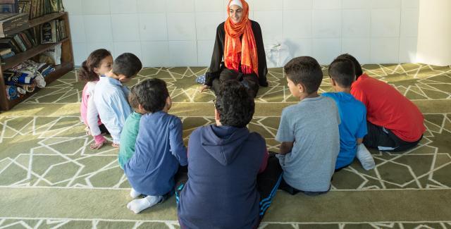 We Love Reading session in Jordan