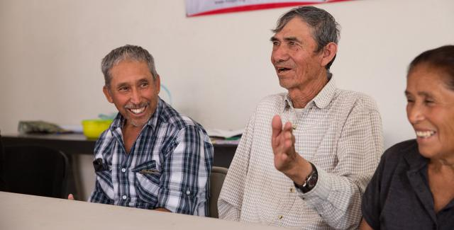 Stakeholders in the work of the Fundación Comunitaria del Bajio in Mexico