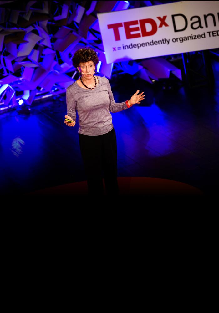 Peggy Dulany speaking at TEDx Danubia 2015