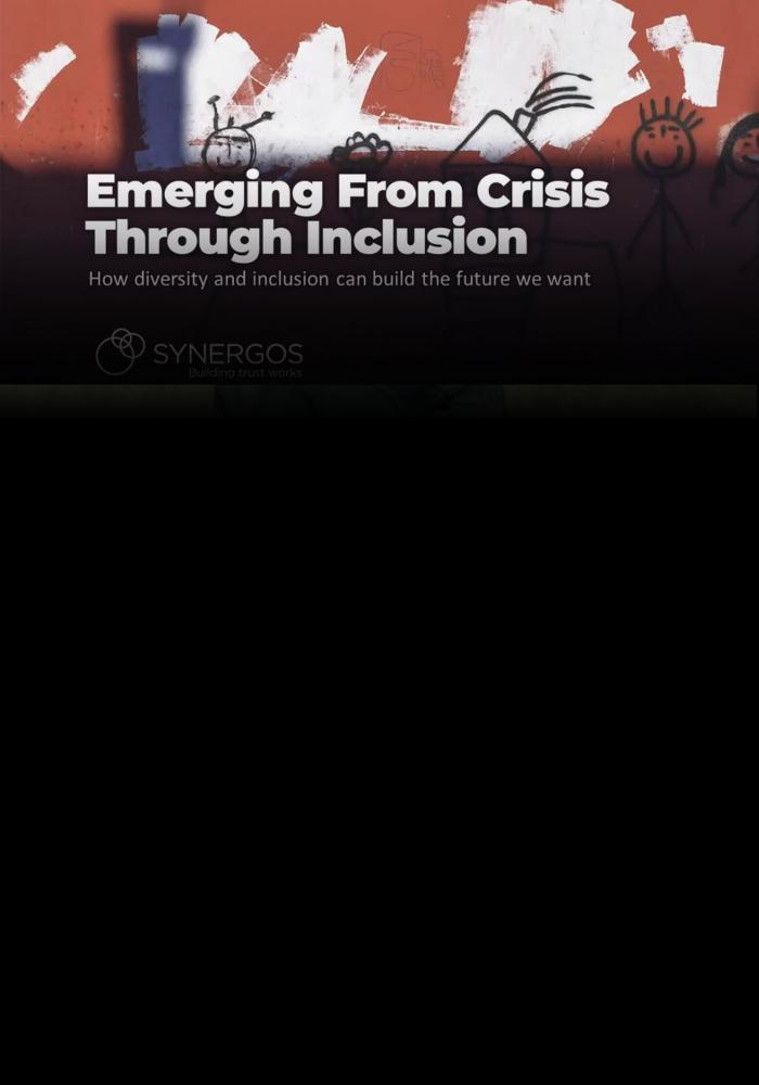 Emerging from Crisis Through Inclusion
