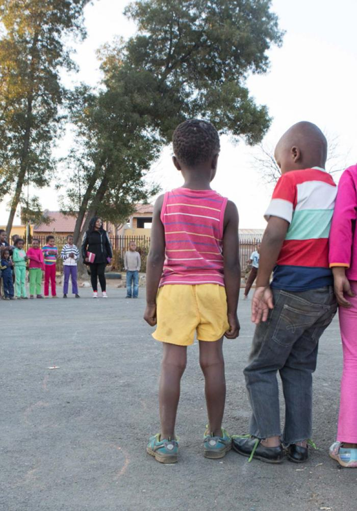 Children at play in Johannesburg, South Africa